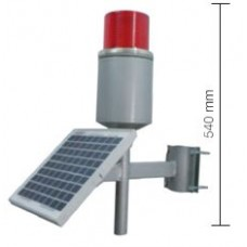 0279 5 W Panel 5 A Akülü Solar Ledli Uçak İkaz Lambası
