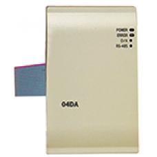 DELTA DVP04DA-E2 4 Analog Giriş 14 bit Çözünürlülüklü Dijital  ve Analog Modül (DC24V)