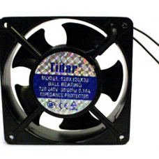 RQA12025HBL 120x120x25mm 18W 0,075A,220VAC Tidar Fan