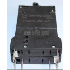 10 Amper Çift Kutuplu AC-DC Otomatik Sigorta