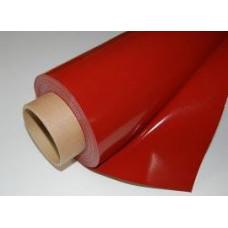 KSKCEK50 En,1.5 mt  x Boy,50 mt Kırmızı silikon kaplı Cam Elyaf Kumaş
