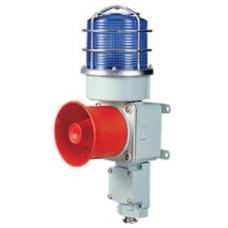 AS0169 12 V DC 120 dB Alüminyum 5 Uyarı Sesli Ledli Kornalı İkaz Lambası