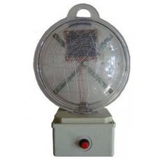 157MELFS 10 W 1.5V Kutulu Fotoselli ve Panelli LED Solar İkaz Lambası