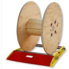 Cable Drum Jack 750 kg  Ton Kaldırma Kapasiteli Kablo Makarası Açma Ekipmanı