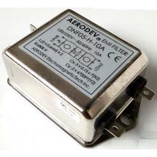 DNF05-H-10A 250 V AC 10A Gürültü giderici Aerodev EMI Filitre