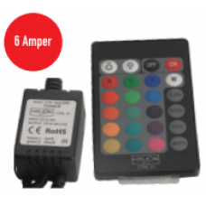 6A RGB 12-24 V DC Led Kontrol Cihazı