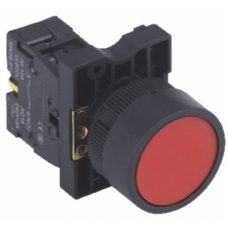 HBY5E-RED 22mm (Ters) Buton Normalde Kapalı kontak