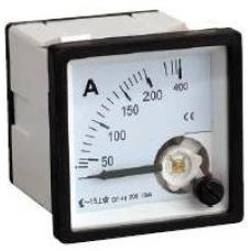 3S-72A50 72x72 50/5A Panel Tipi Analog Ampermetre