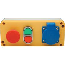 PA3E40K20P1 Emniyet-İkiz Priz Kontrol Paneli