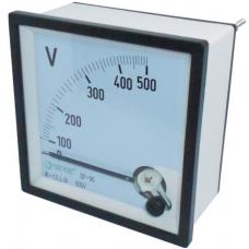 V96-250 96x96 0-250V AC Panel Tipi DC Voltmetre