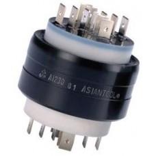 A1230 10-30 Amper 250 V AC-DC 60 Devir 2000 Tork 12 Kutuplu Asiantool Taşıyıcı