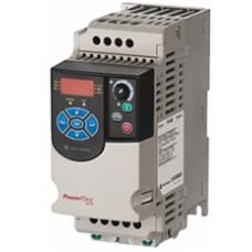 22F-A1P6N113 0.2kW 1.6A 0.25Hp EMC Filitre PowerFlex Monofaze Sürücü