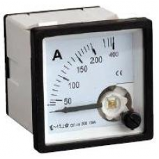 3S-72A300 72x72mm 300/5A Panel Tipi Analog Ampermetre