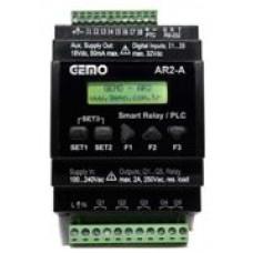 AR2-A-8D 230VAC Ray Tipi Ladder Logic ile Programlanabilir PLC Akıllı Röle