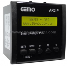 AR2-P-230VAC-10D2A Panel Tipi Ladder Logic ile Programlanabilir PLC Akıllı Röle