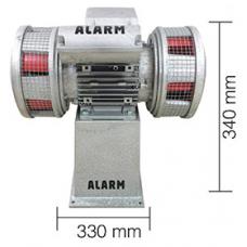 AS0071 550W 220 V AC 50Hz 160db Asenkron Motorlu Çift Fanlı Dökün Gövde Siren