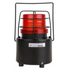AST-9013-SBK 12-60 VAC-DC Taşınabilir Şarjlı Buzerli ve Hareket Sensörlü Tepe Lambası