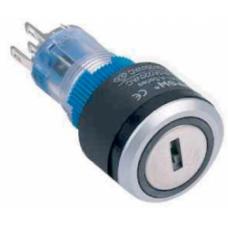 LAS1-AWY-11Y-21 22 mm 0-I Plastik Anahtarlı LED li Switch