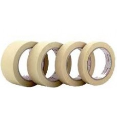 10 mm x 50 mt x 0.15 mm Beyaz 155°C  Yapışkanlı Cam elyaf bant