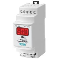 DF-DIN 1 400 Hz 15 V-500 V AC Dijital Frekans metre