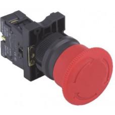 HBY5E-01TS-40 22 mm Bas-Çevir Kafa 40mm Kalıcılı Acil-Stop