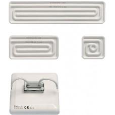 Elsteın HTS 125 W 230 V 125 x 125 mm  yüksek sıcaklık seramik ısıtıcısı