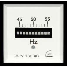 96x96mm Pano Tipi Titreyen Frekansmetre