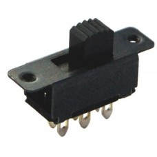 IC-208A ON-OFF-ON 6P Slide Switch
