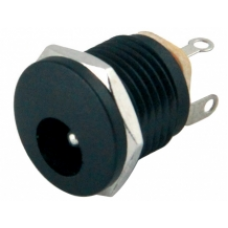 IC-257 2.1mm Somunlu Ø12mm DC Jak