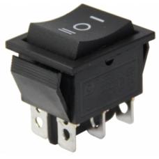 IC-110 Geniş Işıksız Yaylı Anahtar MOM-OFF-MOM