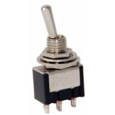 IC-142 Yaylı ON-OFF-MOM Ø6mm Toggle Switch