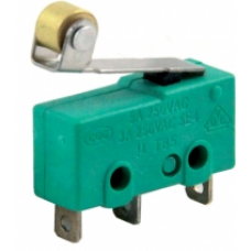 IC-168A Lehim Bacak Makaralı Micro Switch