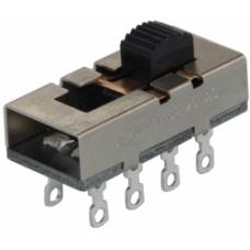 IC-211A2 Sürgülü (Saç Kurutma) 0-1-2 8P Metal Solide Switch