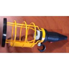 3117KB kablosuz E24 Duy Anahtarlı Kauçuk seyyar el lambası (baladoz)