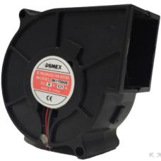 DEMEX70 70x70 24VDC 0,21A Salyangoz Fan