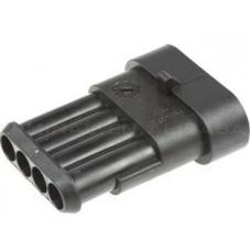 IC-266W-4P 1.5mm Su Geçirmez kablo tipi Araç erkek konnektörü