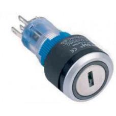 LAS1-AWY-11Y-21 0-I 22 mm LEDli Plastik Anahtarlı Switch