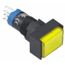 LAS2J-D 12 mm 1NO-1NC Plastik Yaylı Sinyal Lambası
