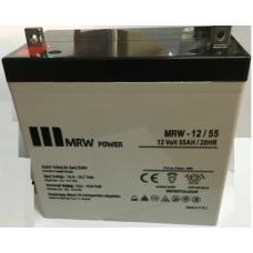 MRW-12-55 12 V dc 55 AH Kuru Tip Akü