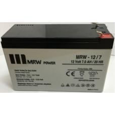 MRW-12-7 12 V dc 7 Ah Kuru Tip akü