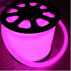Neon Flexıble Pembe 50 mt Hortum Led