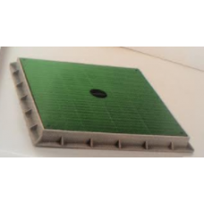 TP4048YRK 40 x 40cm Düz Yeşil Kapak ve Çerçevesi40 x 40cm Düz Yeşil Kapak ve Çerçevesi