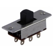 SUR010 6P 1-0-2 Metal Sürgülü Switch