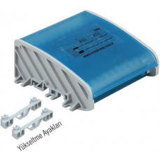 İRDU-102205 100 A (7 x 12 mm - Ayak Geçmeli )2 Kutuplu Dağıtım Ünitesi