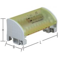 İRDU-650205 80A (6,5 x 9 mm) 2 Kutuplu Dağıtım Ünitesi