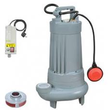 Sumak SDF 20-3 Açık Fanlı (Vortex) Atık Su ve Foseptik Dalgıç Pompası