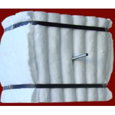 300 x 300 x 300 mm 1260 °C Seramik Elyaf Modül