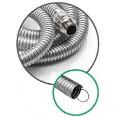 SPH.05.182 56 mm Klavuz Telli Galvaniz Çelik Spiral Boru