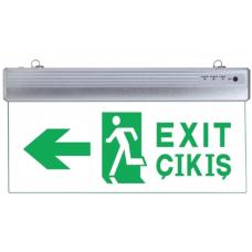SNT-SY216 Exit Çıkış Tabalası Tek Yön 400x200mm