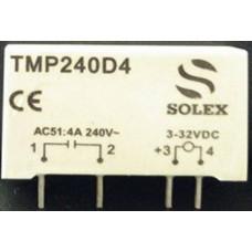 TMP240D4 4 A 3-32 V DC Giriş 280 V DC Soketsiz kart tipi (PCB)Solid State Röle